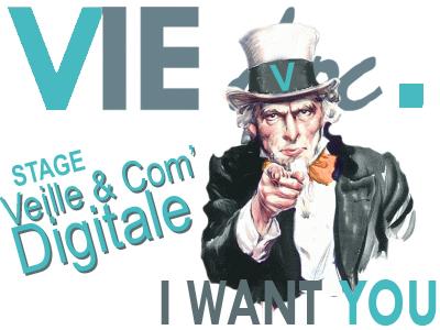 Viedoc Recrute un(e) stagiaire en veille et communication digitale