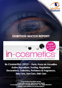In-Cosmetics Paris 2013